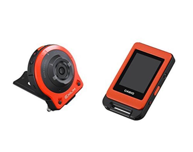 画像: Amazon.co.jp: CASIO デジタルカメラ EXILIM EXFR10EO カメラ部/コントロール部分離 フリースタイルカメラ 1410万画素 EX-FR10EO オレンジ: カメラ