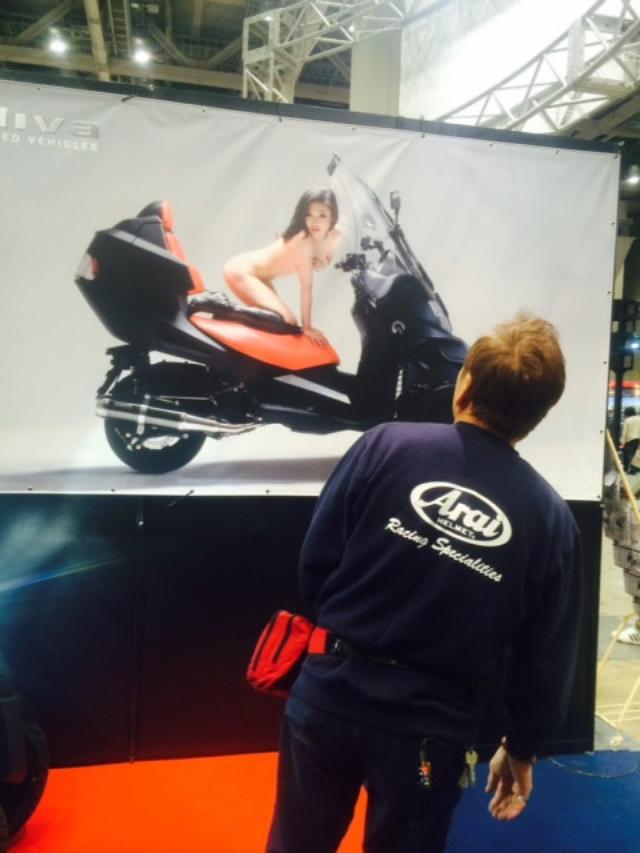"""画像2: 福山理子の""""いまさらモーターサイクルショー2014"""" (その15・最終回バイク業界を盛り上げたい。)"""