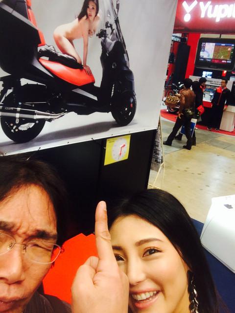 """画像9: 福山理子の""""いまさらモーターサイクルショー2014"""" (その15・最終回バイク業界を盛り上げたい。)"""