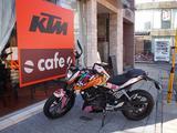 画像1: オープンしたての「KTMカフェ」に行ってきました!(斉藤のん)