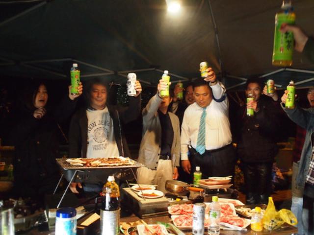 画像: そして、ボランティアでお手伝いされていた 隼オーナーさん&隼駅を守る会の西村会長さんもいらっしゃいました(^^)