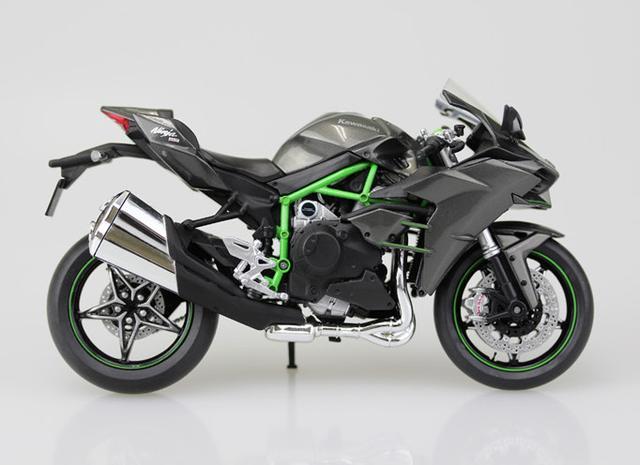 画像: 『1/12完成品バイク Kawasaki Ninja H2』