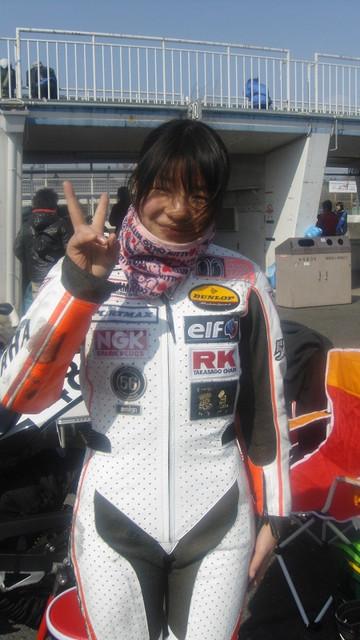 画像4: Shiny and Bright! Introducing the Female Racing Riders! (Riko Fukuyama) ※English ver.