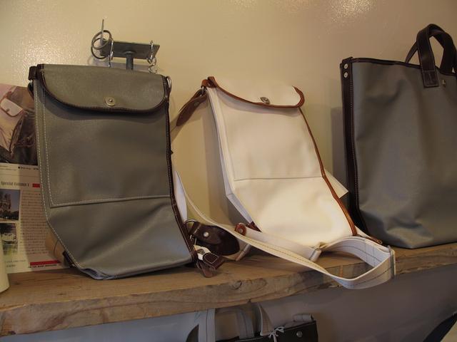 画像2: 横浜生まれの逸品! バイク用の「帆布バッグ」を購入しちゃいました!