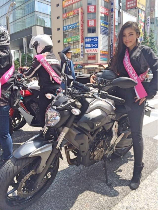 画像1: 女子だけでパレード。(福山理子)
