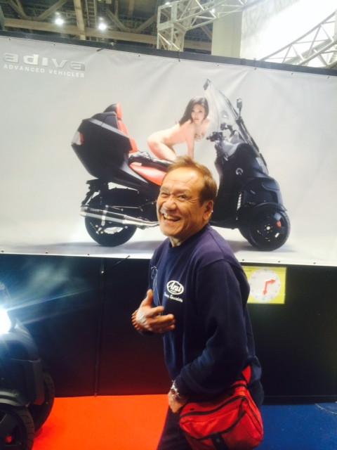 """画像3: 福山理子の""""いまさらモーターサイクルショー2014"""" (その15・最終回バイク業界を盛り上げたい。)"""