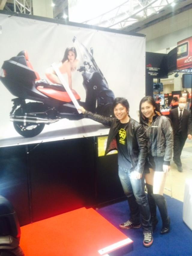 """画像6: 福山理子の""""いまさらモーターサイクルショー2014"""" (その15・最終回バイク業界を盛り上げたい。)"""