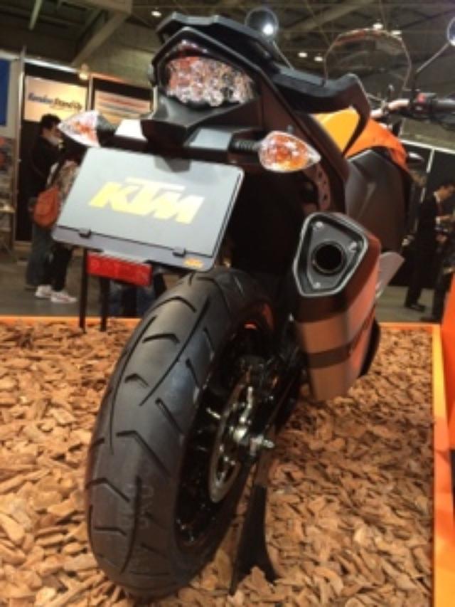 画像5: <大阪&東京MCS2015>KTM の ジャパンプレミア(福山理子)