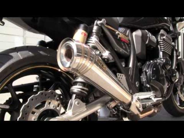 画像: SP TADAO ZRX1200 DAEG POWER BOX MUFFLER youtu.be