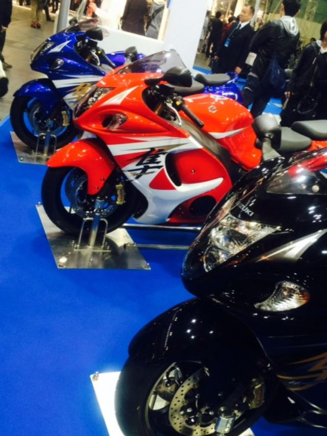 画像7: 大阪モーターサイクルショー2014、たっぷり満喫中!(福山理子)