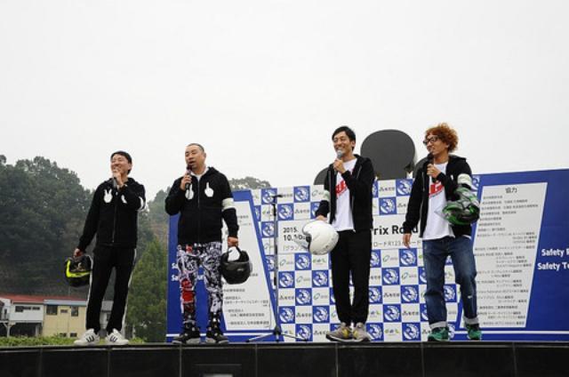 画像: 今回、参加したメンバーは、リーダーのレイザーラモンRGさん、チュートリアルの福ちゃん とろサーモン村田さん、カナリヤのボン溝黒さん。村田人気が爆発したなぁ!(笑