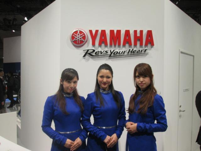 画像1: <理子の東京モーターショー2013見聞録>どうしてもナマで見たかったんです(ヤマハ編 その2)