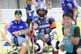 画像: まずは優勝チーム! 中須賀克行/ポル・エスパルガロ いやぁ伝説のチームになるね!