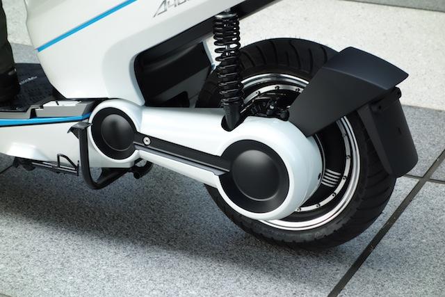 画像4: 世界初! スマートフォン連携機能を備えた電動スクーター「A4000i」をテラモーターズが発表!