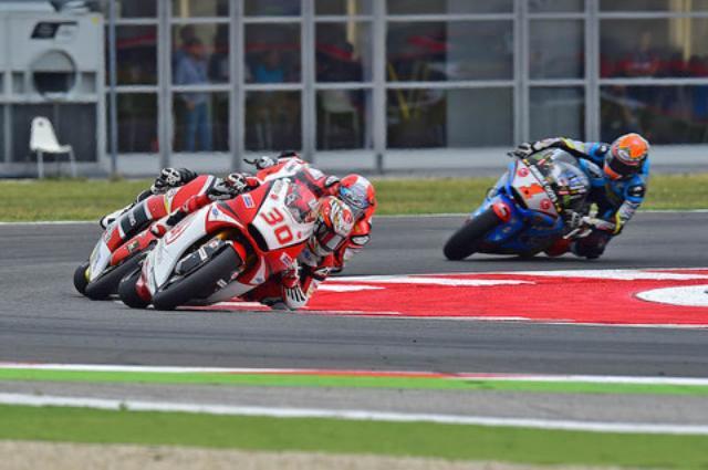 画像2: Moto2に参戦する中上貴晶 選手が3位表彰台を獲得!