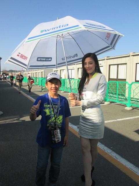 画像7: 今年も日本GPでパッドックガール!(福山理子)
