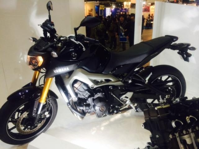 画像3: 大阪モーターサイクルショー2014、たっぷり満喫中!(福山理子)