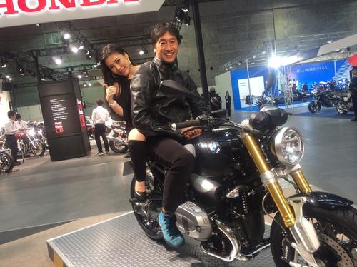 """画像1: 福山理子の""""いまさらモーターサイクルショー2014"""" (その7 BMW)"""