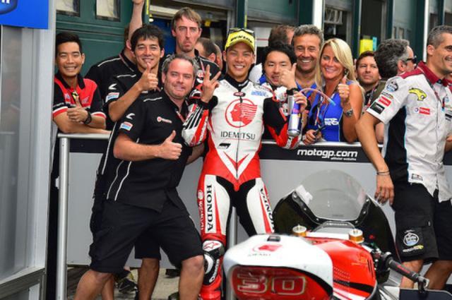画像5: Moto2に参戦する中上貴晶 選手が3位表彰台を獲得!