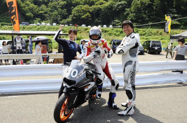画像: 美男美女夫婦とチーム結成! 気持ちのいいチームメイトは楽しいレースに不可欠です