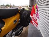 画像: ↓もう北海道のフラッグも付けたりしちゃったら、北海道帰りみたい。