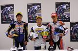 画像: 日浦(←)は2度目の3位表彰台です!喜びっぷりが気持ちよかった!