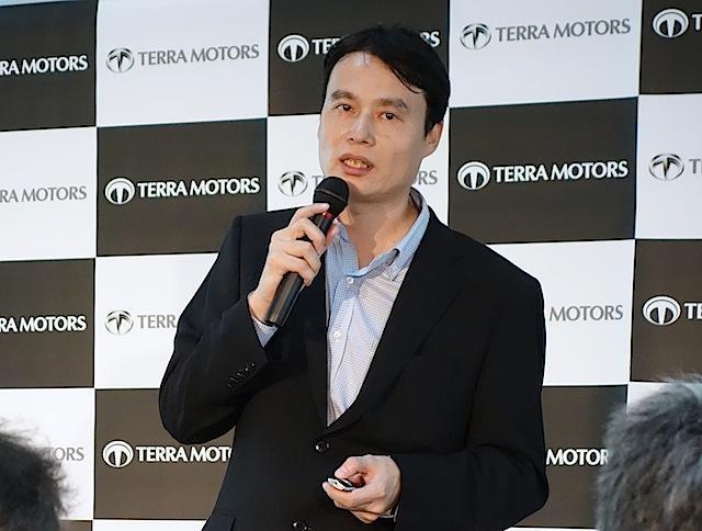 画像2: 世界初! スマートフォン連携機能を備えた電動スクーター「A4000i」をテラモーターズが発表!
