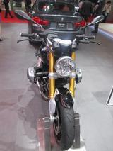 画像7: <理子の東京モーターショー2013見聞録> バイクに革ジャンに女の子 (BMW編)