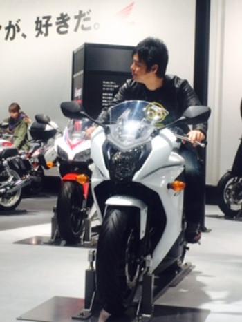 """画像4: 福山理子の""""いまさらモーターサイクルショー2014"""" (その2)"""