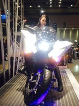 """画像2: 福山理子の""""いまさらモーターサイクルショー2014"""" (その1)"""