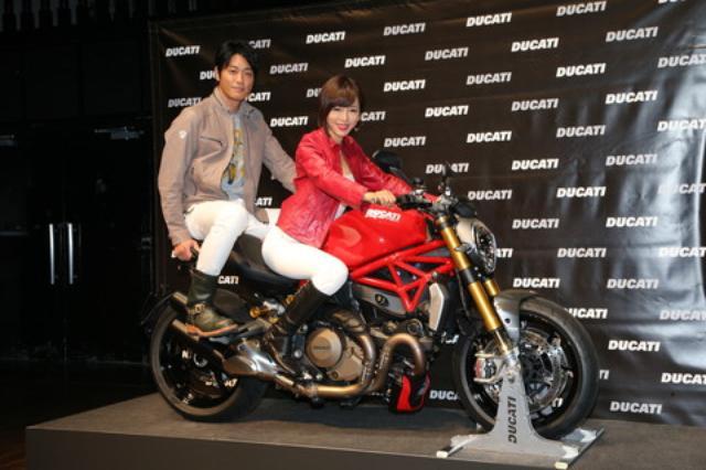画像4: ドゥカティとモンハンの夢のコラボが実現! モンスター1200・モンハンバージョン発売!