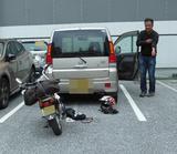 画像: ホンダ車から出てきたホンダ車。