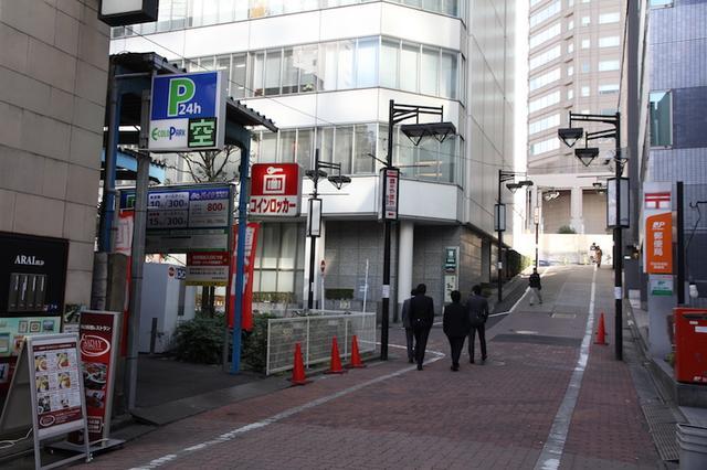 画像1: 渋谷駅から徒歩数分のバイク駐車場