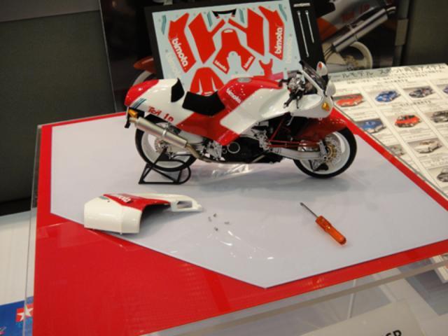 画像4: バイク関連もいっぱい! 今年も静岡ホビーショーに行ってきました