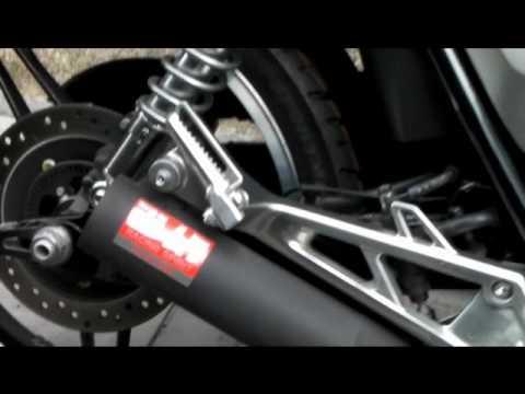 画像: 〔オートバイ〕CB1100用手曲ストレートサイクロン「RSC-VINTAGE」 youtu.be