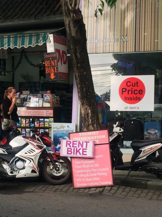 画像5: バリのレンタルバイク事情を、ちょっとだけお届け(福山理子)