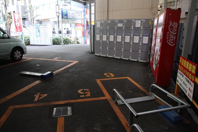 画像6: 渋谷駅から徒歩数分のバイク駐車場