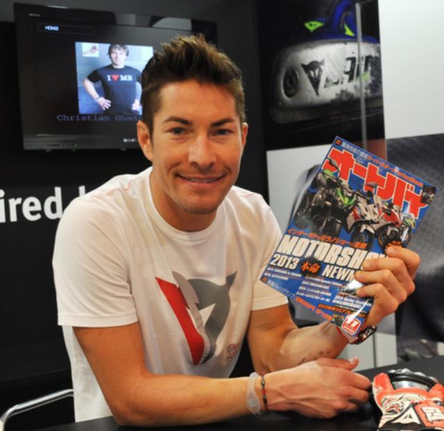 画像: 【2012日本GP】ニッキー・ヘイデン選手がファン交流イベントに登場! - LAWRENCE - Motorcycle x Cars + α = Your Life.