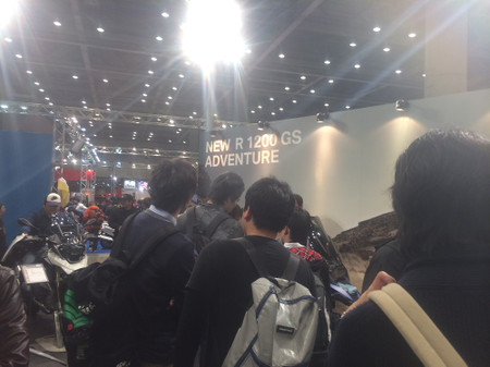 """画像3: 福山理子の""""いまさらモーターサイクルショー2014"""" (その7 BMW)"""