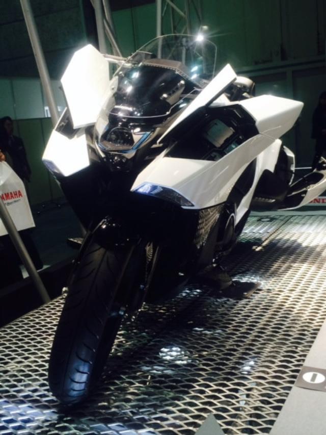 画像2: 大阪モーターサイクルショー2014、たっぷり満喫中!(福山理子)