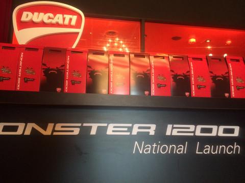 画像2: モンスター1200の発表イベントに行ってきました!