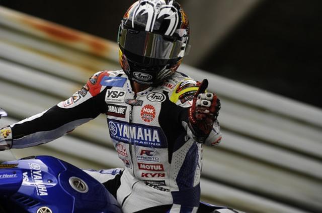 画像: 金曜の合同練習からすべてトップタイム! GPではスイープ、って呼ぶ圧勝です