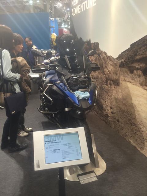 """画像4: 福山理子の""""いまさらモーターサイクルショー2014"""" (その7 BMW)"""