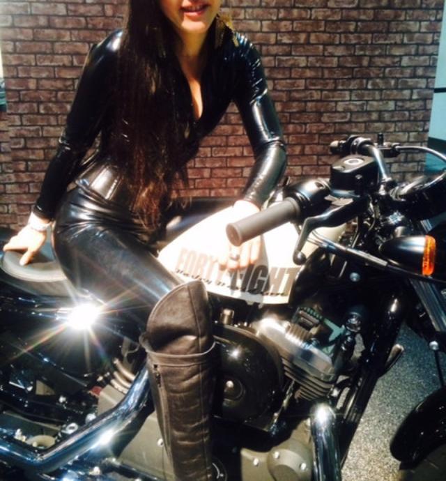 """画像5: 福山理子の""""いまさらモーターサイクルショー2014"""" (その8ハーレーブース)"""