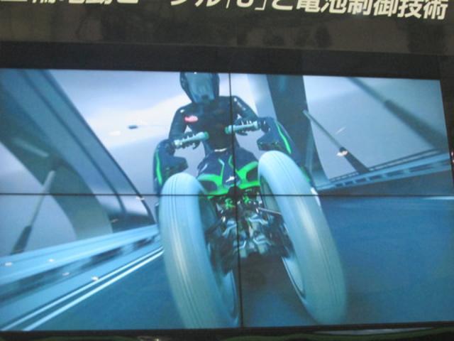 画像7: <理子の東京モーターショー2013見聞録>気になり過ぎちゃった1台!(カワサキ編 その1)