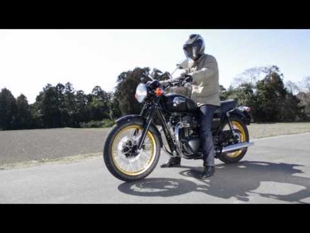 画像: 【オートバイ】カワサキ W800 用マフラー<アールズギア> youtu.be