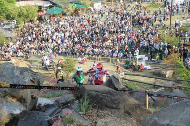 画像2: トライアル世界選手権 日本グランプリ、楽しいっす!(齋藤ハルコ)