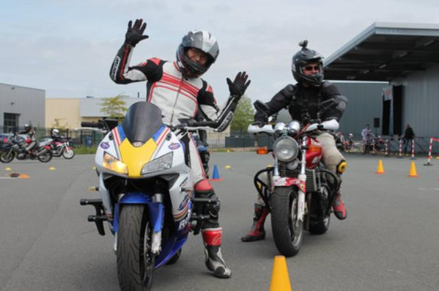 画像: <ジムカーナ>今度はヨーロッパチャンピオン決定戦に参戦!(その1) - オートバイ & RIDE