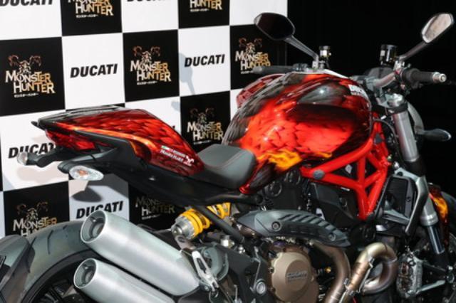 画像3: ドゥカティとモンハンの夢のコラボが実現! モンスター1200・モンハンバージョン発売!