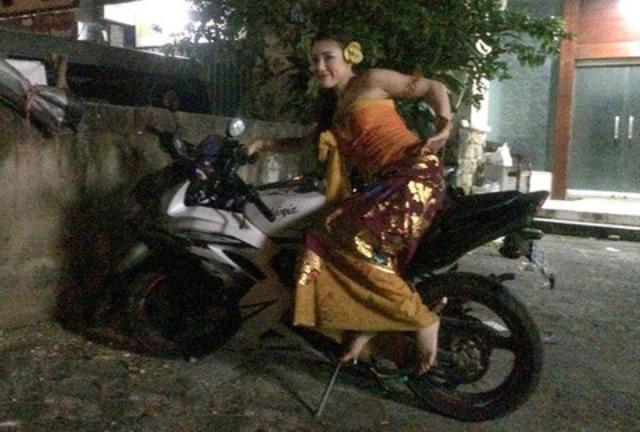 画像1: バリのレンタルバイク事情を、ちょっとだけお届け(福山理子)